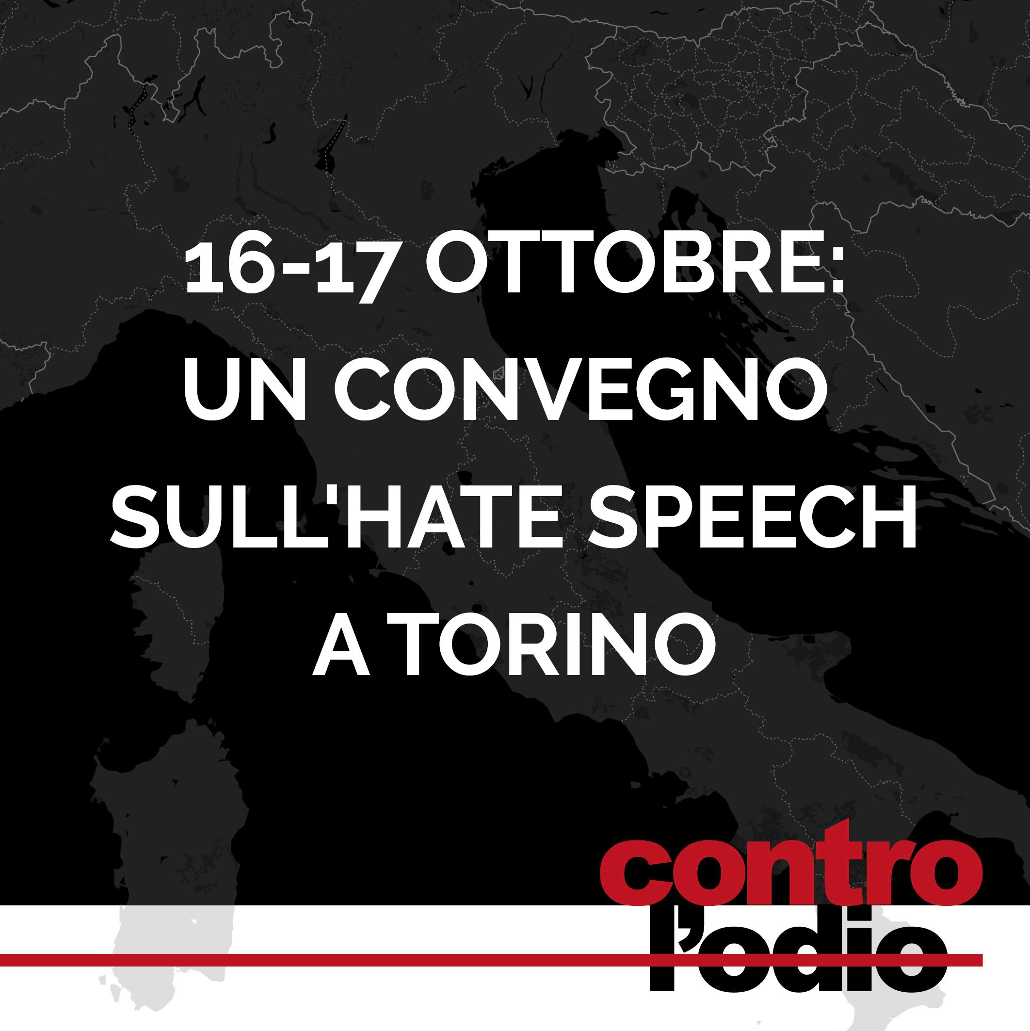 un convegno sullo hate speech a Torino